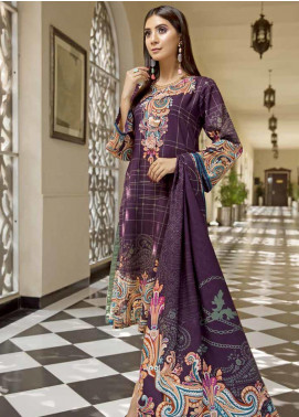 Ittehad Textiles Printed Khaddar Unstitched 3 Piece Suit ITD19GK 2608A - Winter Collection