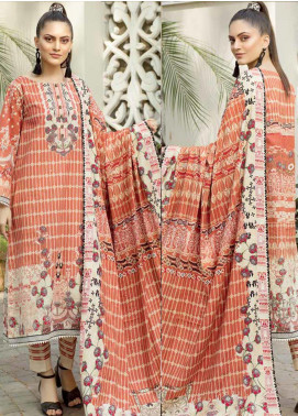 Ittehad Textiles Printed Khaddar Unstitched 3 Piece Suit ITD19GK 2609A - Winter Collection