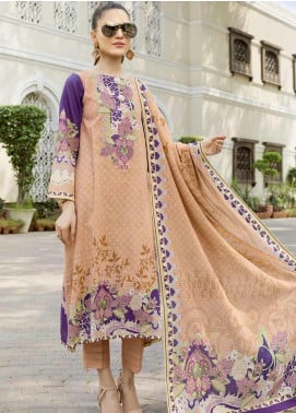 Ittehad Textiles Printed Khaddar Unstitched 3 Piece Suit ITD19GK 2611A - Winter Collection