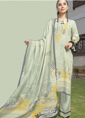Ittehad Textiles Printed Khaddar Unstitched 3 Piece Suit ITD19GK 2612B - Winter Collection