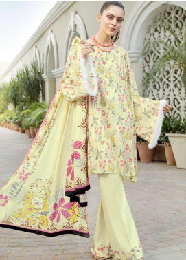 Ittehad Textiles Printed Khaddar Unstitched 3 Piece Suit ITD19GK 2614A - Winter Collection