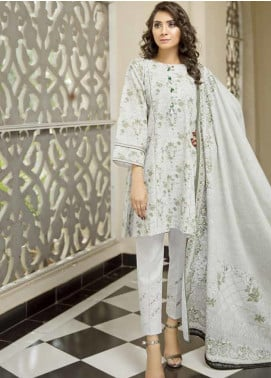 Ittehad Textiles Printed Khaddar Unstitched 3 Piece Suit ITD19GK 2615B - Winter Collection