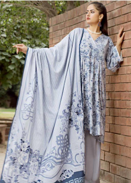 Ittehad Textiles Printed Linen Unstitched 3 Piece Suit ITD19GL 3002-B - Winter Collection