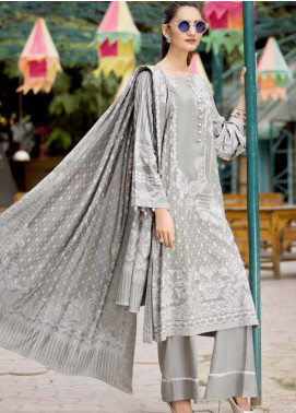 Ittehad Textiles Printed Linen Unstitched 3 Piece Suit ITD19GL 3008-B - Winter Collection