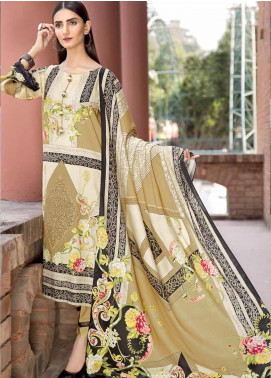 Ittehad Textiles Printed Linen Unstitched 3 Piece Suit ITD19GL 3009-A - Winter Collection