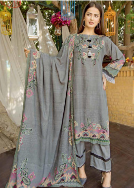 Ittehad Textiles Printed Linen Unstitched 3 Piece Suit ITD19GL 3010-A - Winter Collection