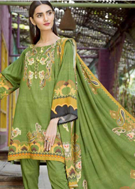 Ittehad Textiles Printed Linen Unstitched 3 Piece Suit ITD19GL 3010-B - Winter Collection