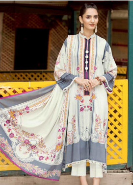 Ittehad Textiles Printed Linen Unstitched 3 Piece Suit ITD19GL 3012-A - Winter Collection