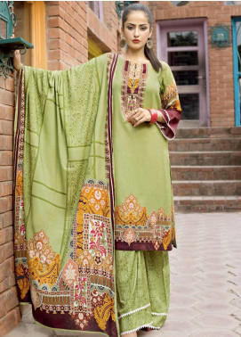 Ittehad Textiles Printed Linen Unstitched 3 Piece Suit ITD19GL 3013-A - Winter Collection
