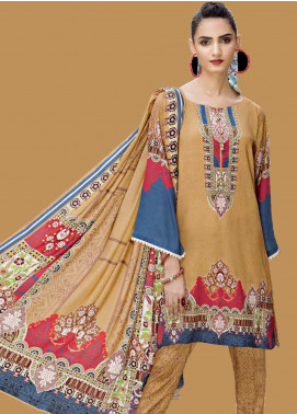 Ittehad Textiles Printed Linen Unstitched 3 Piece Suit ITD19GL 3013-B - Winter Collection