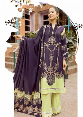Ittehad Textiles Printed Linen Unstitched 3 Piece Suit ITD19GL 3016-A - Winter Collection