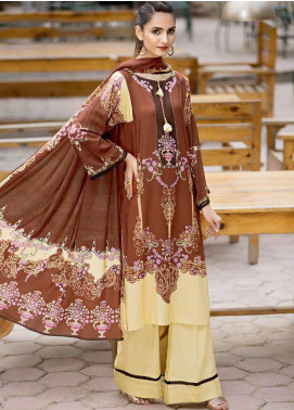 Ittehad Textiles Printed Linen Unstitched 3 Piece Suit ITD19GL 3016-B - Winter Collection