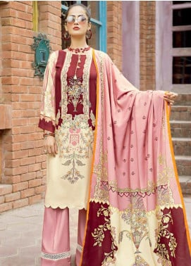 Ittehad Textiles Printed Linen Unstitched 3 Piece Suit ITD19GL 3017-A - Winter Collection