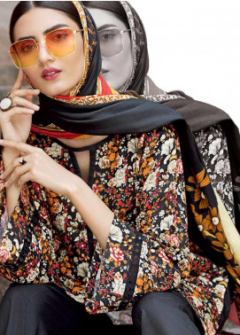Ittehad Textiles Printed Linen Unstitched 3 Piece Suit ITD19GL 3018-A - Winter Collection