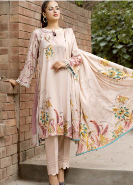 Ittehad Textiles Printed Linen Unstitched 3 Piece Suit ITD19GL 3019-B - Winter Collection