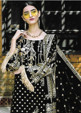 Ittehad Textiles Printed Linen Unstitched 3 Piece Suit ITD19GL 3020-A - Winter Collection