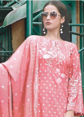 Ittehad Textiles Printed Linen Unstitched 3 Piece Suit ITD19GL 3020-B - Winter Collection