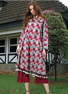 Ittehad Textiles Printed Cotton Unstitched 2 Piece Suit ITH19C 108A - Fall Collection