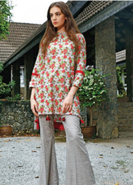 Ittehad Textiles Printed Cotton Unstitched 2 Piece Suit ITH19C 109A - Fall Collection