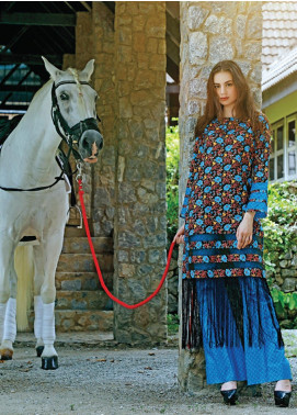 Ittehad Textiles Printed Cotton Unstitched 2 Piece Suit ITH19C 110A - Fall Collection