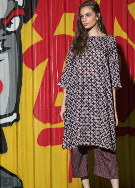 Ittehad Textiles Printed Khaddar Unstitched 2 Piece Suit ITD19HK 201A - Winter Collection