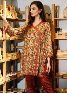 Ittehad Textiles Printed Khaddar Unstitched 2 Piece Suit ITD19HK 223A - Winter Collection