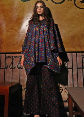 Ittehad Textiles Printed Khaddar Unstitched 2 Piece Suit ITD19HK 224A - Winter Collection