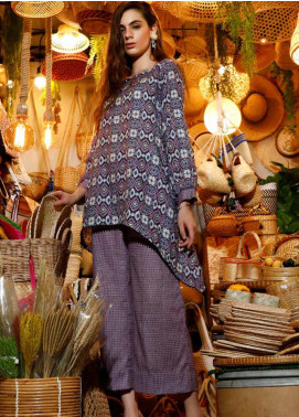 Ittehad Textiles Printed Khaddar Unstitched 2 Piece Suit ITD19HK 225A - Winter Collection