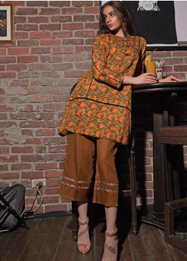 Ittehad Textiles Printed Khaddar Unstitched 2 Piece Suit ITD19HK 227A - Winter Collection