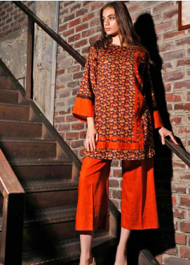 Ittehad Textiles Printed Khaddar Unstitched 2 Piece Suit ITD19HK 228A - Winter Collection
