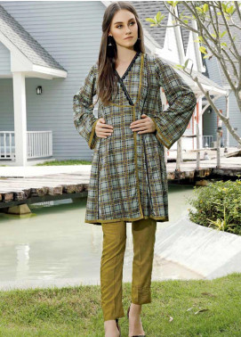 Ittehad Textiles Printed Linen Unstitched 2 Piece Suit ITD19HL 03A - Winter Collection