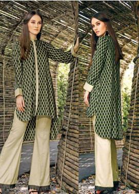 Ittehad Textiles Printed Linen Unstitched 2 Piece Suit ITD19HL 05A - Winter Collection