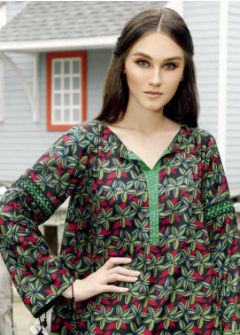 Ittehad Textiles Printed Linen Unstitched 2 Piece Suit ITD19HL 06A - Winter Collection