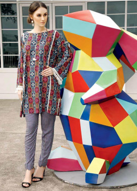 Ittehad Textiles Printed Linen Unstitched 2 Piece Suit ITD19HL 07A - Winter Collection