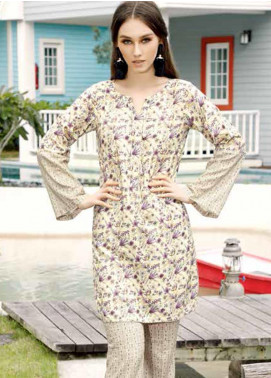 Ittehad Textiles Printed Linen Unstitched 2 Piece Suit ITD19-HL2 19A - Winter Collection