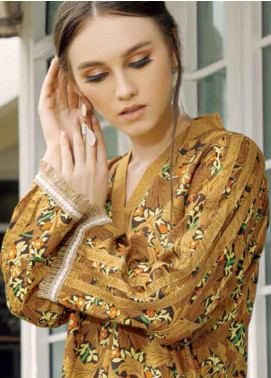 Ittehad Textiles Printed Linen Unstitched 2 Piece Suit ITD19-HL2 24A - Winter Collection
