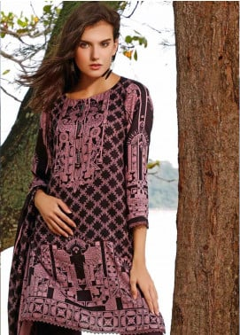 Ittehad Textiles Printed Linen Unstitched 3 Piece Suit ITJ19L 2519B - Fall Collection