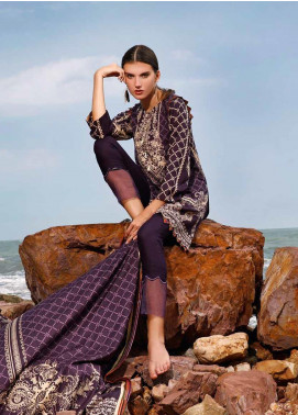 Ittehad Textiles Printed Linen Unstitched 3 Piece Suit ITJ19L 2522C - Fall Collection