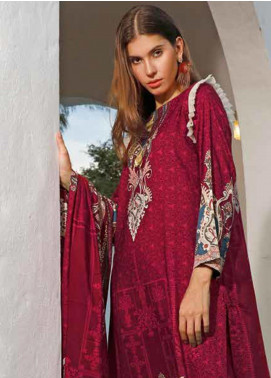 Ittehad Textiles Printed Linen Unstitched 3 Piece Suit ITJ19L 2525A - Fall Collection