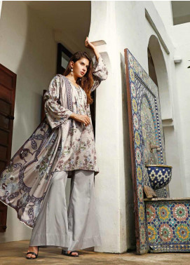 Ittehad Textiles Printed Linen Unstitched 3 Piece Suit ITJ19L 2528B - Fall Collection