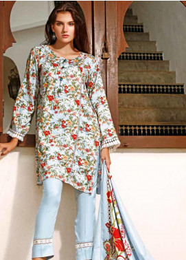 Ittehad Textiles Printed Linen Unstitched 3 Piece Suit ITJ19L 2529A - Fall Collection