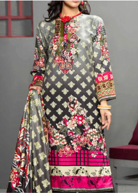 Jhalak by Ittehad Textiles Printed Linen Unstitched 3 Piece Suit ITD20J 1613-B - Winter Collection