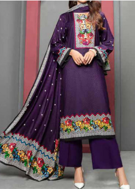 Jhalak by Ittehad Textiles Printed Linen Unstitched 3 Piece Suit ITD20J 1614-A - Winter Collection