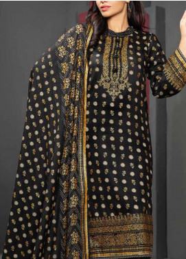 Jhalak by Ittehad Textiles Printed Linen Unstitched 3 Piece Suit ITD20J 1619-A - Winter Collection