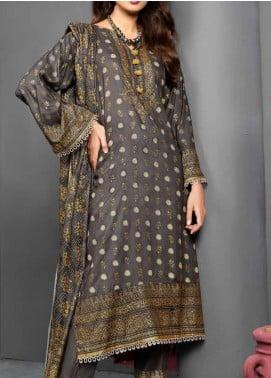 Jhalak by Ittehad Textiles Printed Linen Unstitched 3 Piece Suit ITD20J 1619-C - Winter Collection
