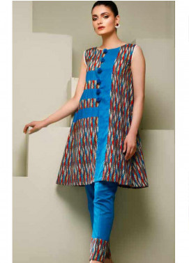 Ittehad Textiles Printed Lawn Unstitched 2 Piece Suit ITD20MS 010A - Summer Collection