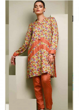 Ittehad Textiles Printed Lawn Unstitched 2 Piece Suit ITD20MS 011A - Summer Collection