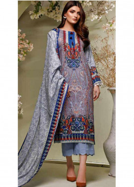 Ittehad Textiles Printed Lawn Unstitched 3 Piece Suit ITD20MS 017A - Summer Collection