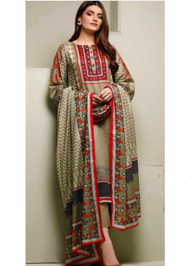 Ittehad Textiles Printed Lawn Unstitched 3 Piece Suit ITD20MS 019B - Summer Collection