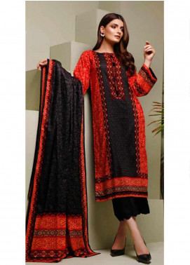 Ittehad Textiles Printed Lawn Unstitched 3 Piece Suit ITD20MS 020A - Summer Collection